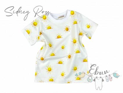 sluníčkový triko