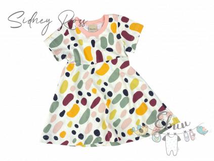 flekatý šaty