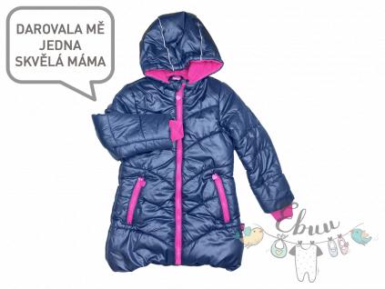 černá zimní bunda