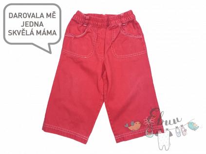 červené kalhoty na ven