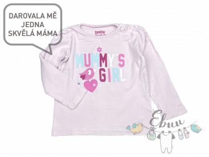 růžové tričko Mummy's girls
