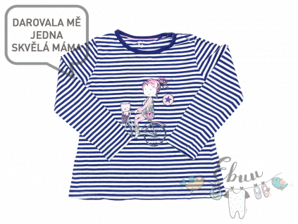pruhované tričko s obrázkem