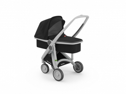 Greentom carrycot 2017 inside grey black