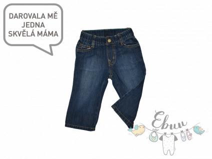 modré dětské džíny