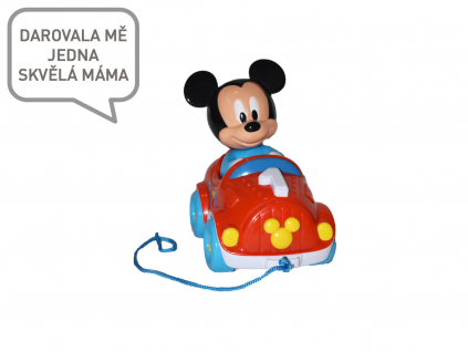 tahací autíčko Mickey Mouse