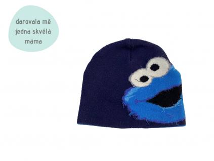 modrá čepice Sesame Street