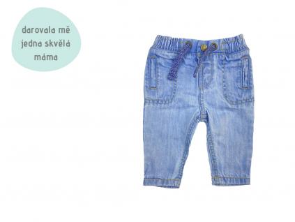 světlé džíny