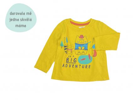 žluté triko Big Adventure