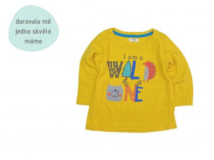 žluté triko Wild One