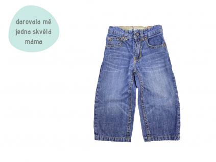 modré džíny GAP