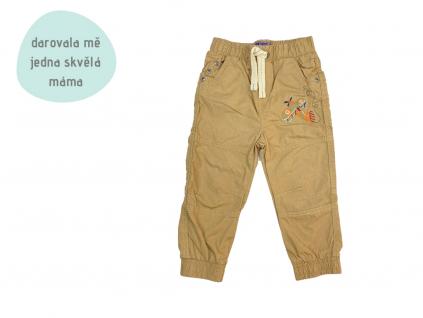 hnědé kalhoty na ven