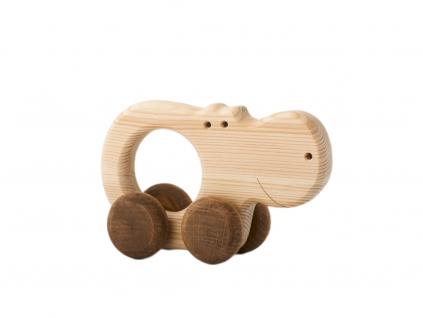 hrošice Alice - dřevěná hračka