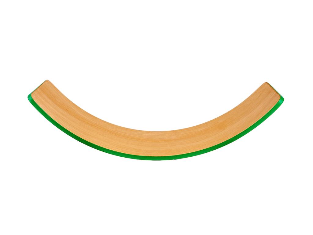 houpací prkno - barevná hrana barva: Zelená