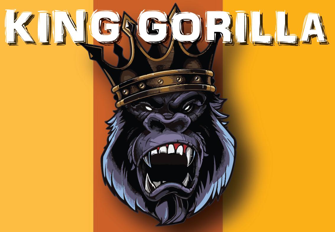 Příchutě KING GORILLA