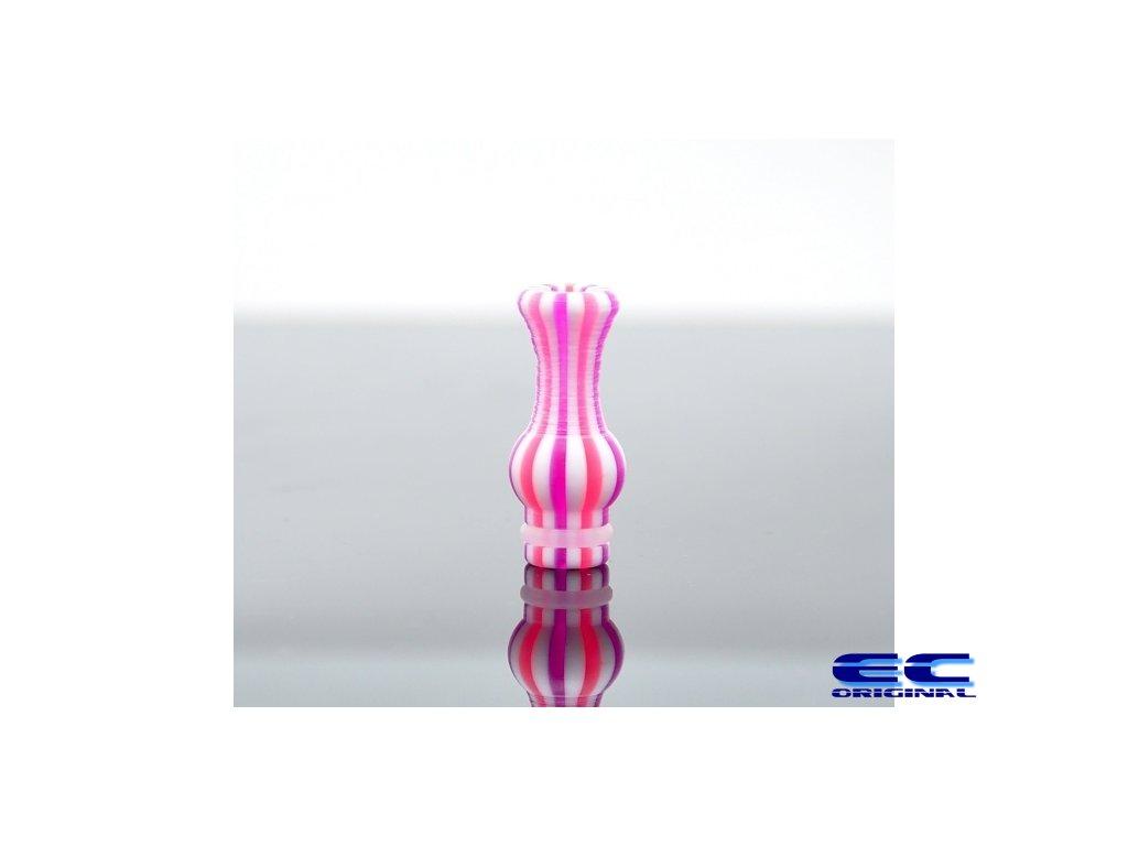 Náustek 510  - růžová zebra