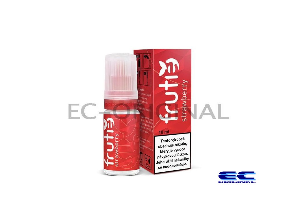 Frutie - Jahoda (Strawberry) - liquid - 10ml