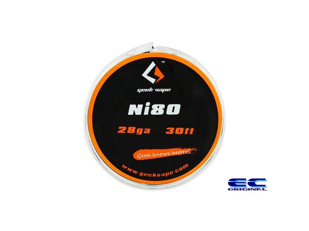 GeekVape Ni80 odporový drát 30ft - 10m