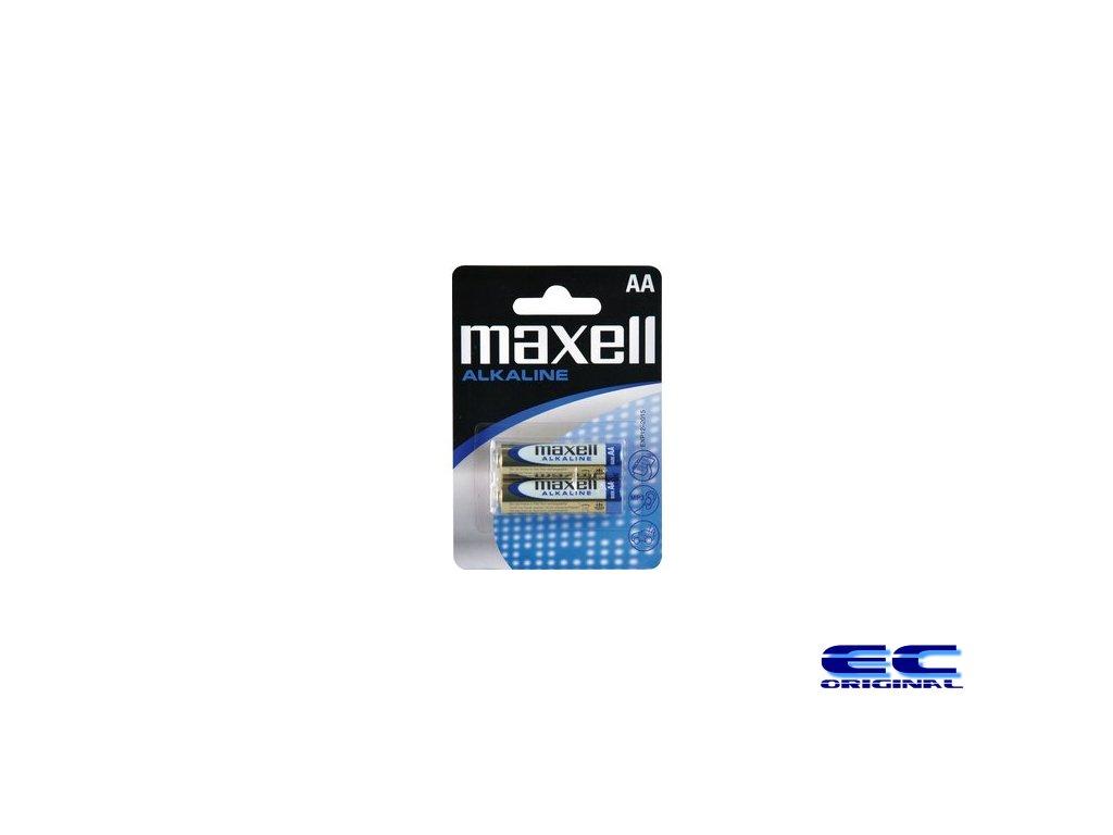 Baterie Maxell Alkaline AA 1,5V tužka (2pack)