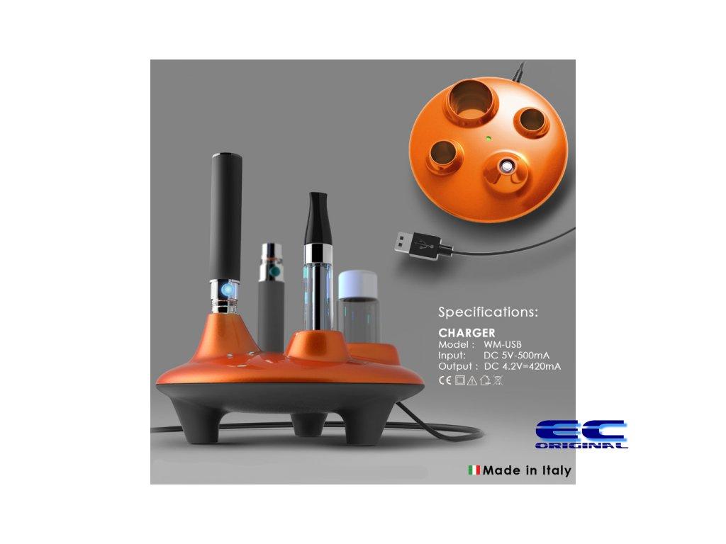 UFO EGO Docking station - Stylový stojánek na eGo cigarety s nabíječkou - USB