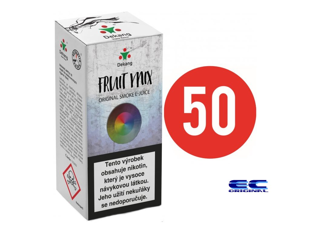 liquid dekang fifty fruit mix 10ml 6mg ovocny mix.png