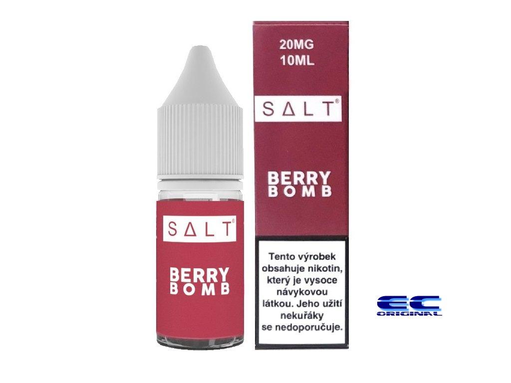 liquid juice sauz salt berry bomb 10ml 20mg