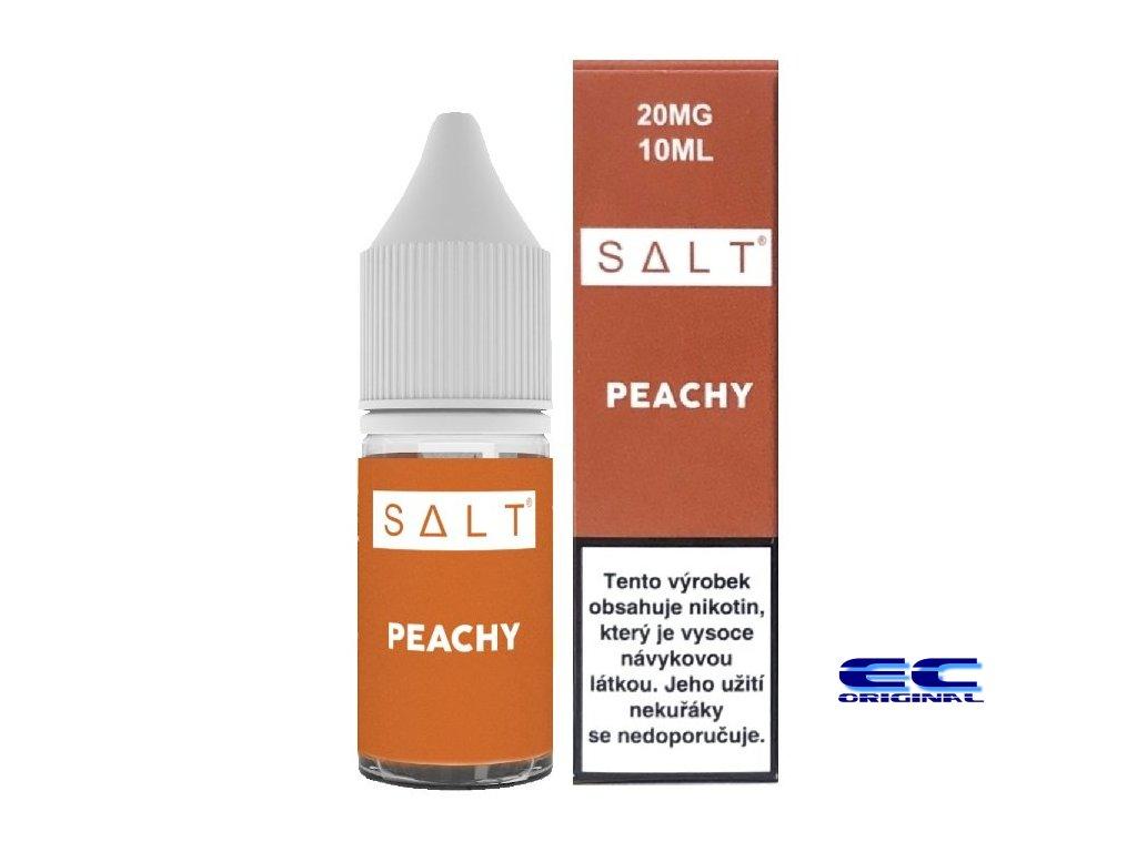 liquid juice sauz salt peachy 10ml 20mg