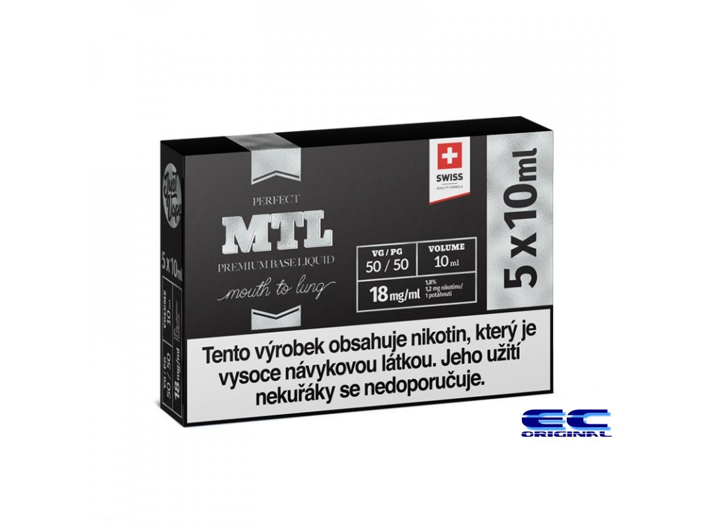 MTL 5x10ml 18mg