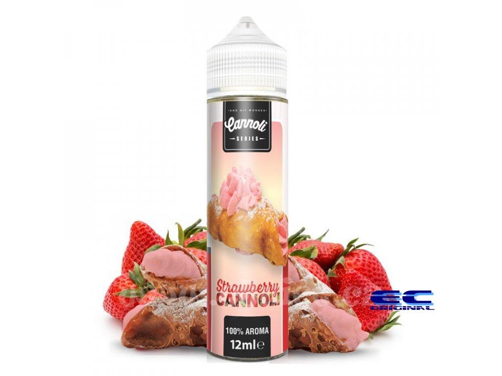 Strawberry Cannoli