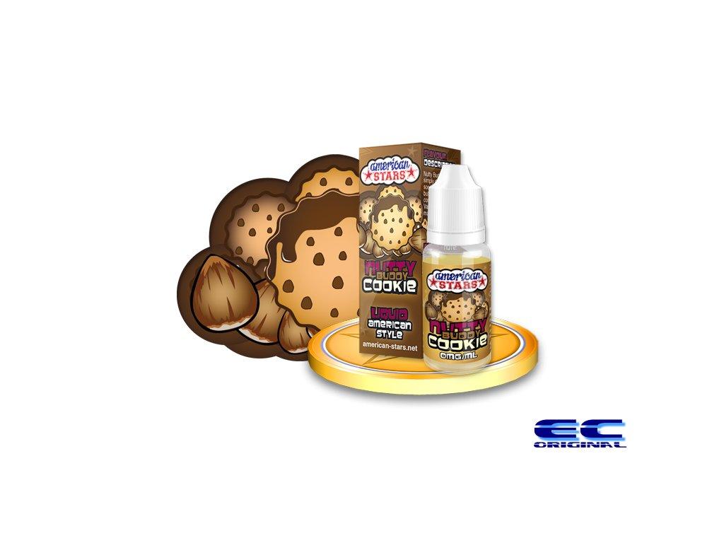 E-liquid American Stars 10ml - Nutty Buddy Cookie