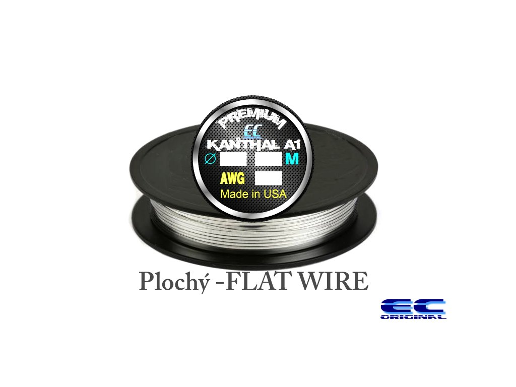 Drát Kanthal A1 PREMIUM 1m - MADE IN USA - plochý