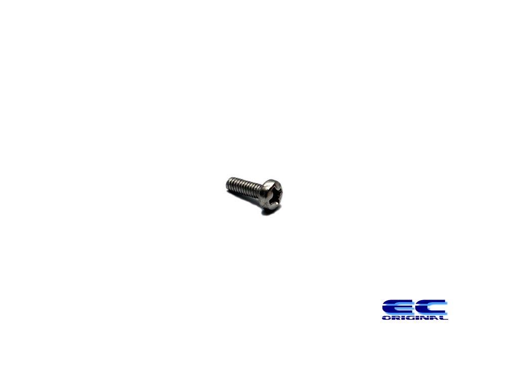 Nerezový Šroub - půlkulatý křížový M2,5