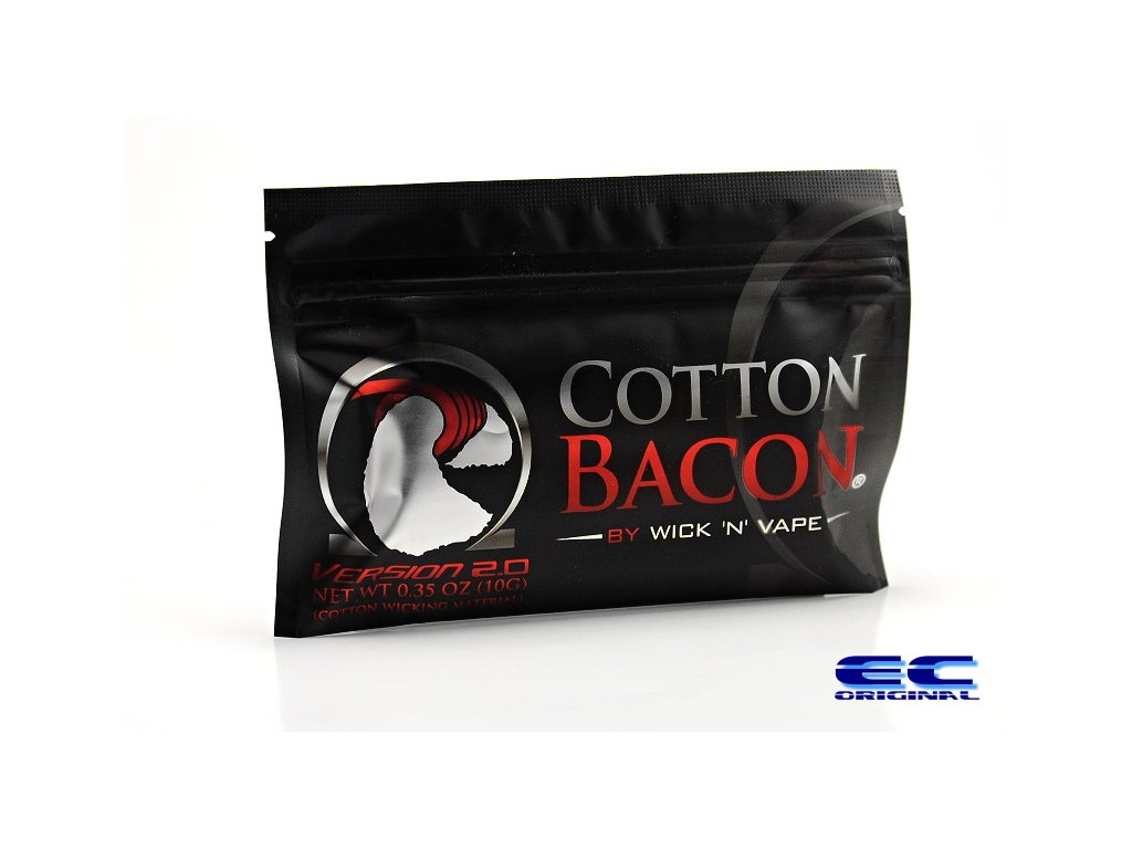 Cotton Bacon V2 by Wick N' Vape Uk