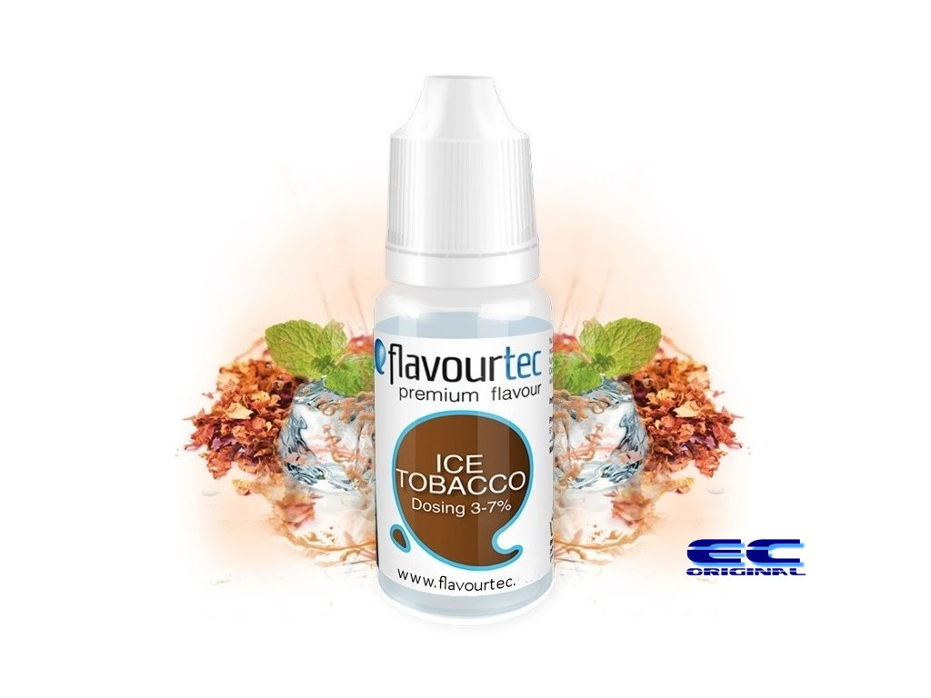 Flavourtec - Příchuť - Ice Tobacco (Tabák & Mentol) - 10ml