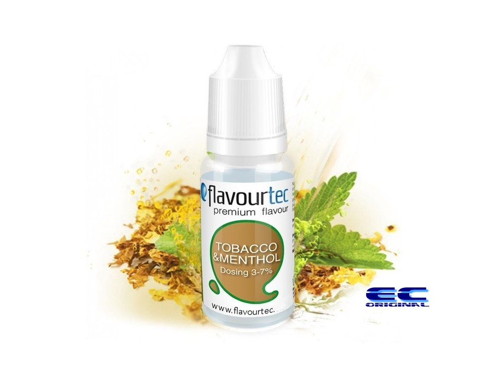 Flavourtec - Příchuť - Tobacco & Menthol (Tabák & Mentol) - 10ml
