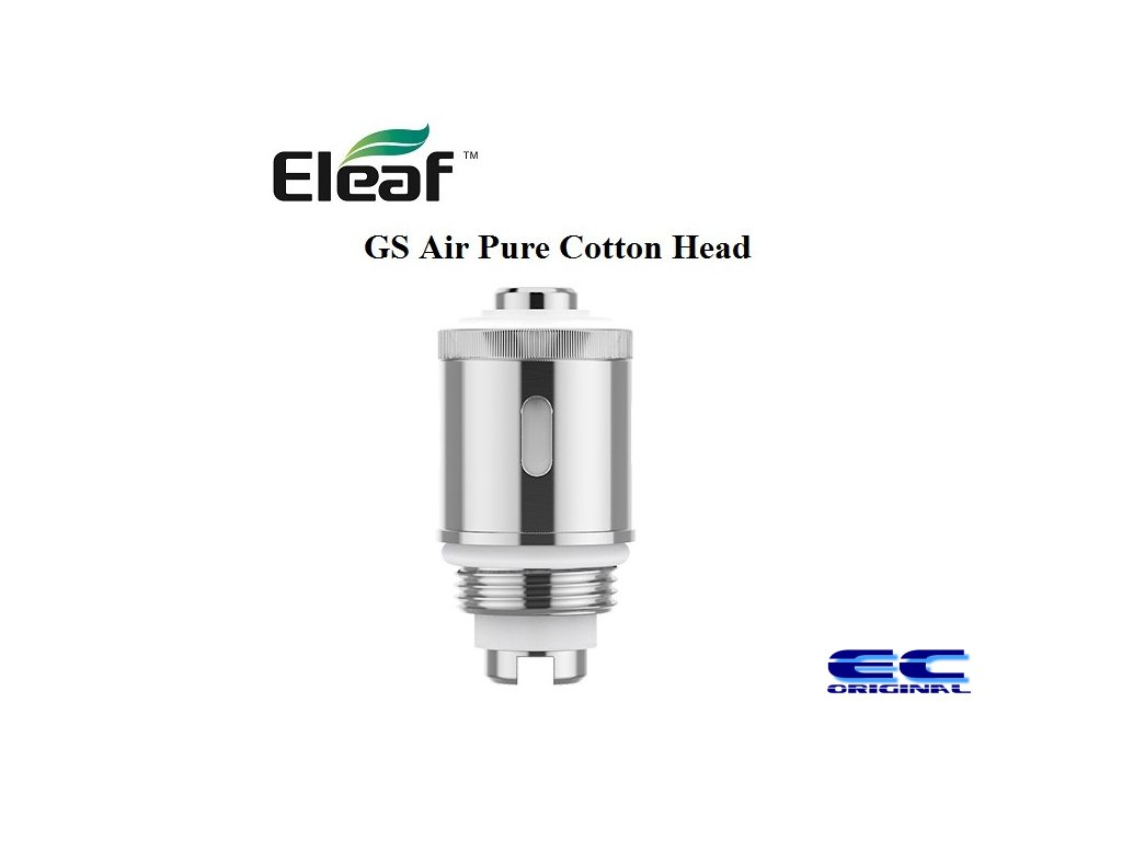 Náhradní hlava Eleaf GS Air - s vatou 1,2ohm