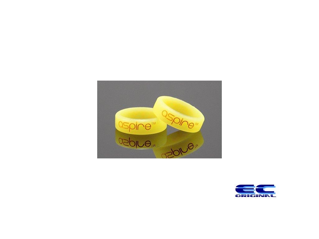 Dekorativní kroužek velký Aspire žlutý Lumino