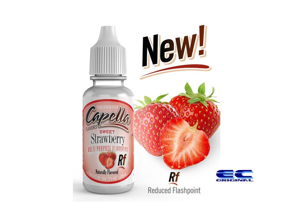 Sladká jahoda (Sweet Strawberry Rf) - Příchuť Capella Flavors