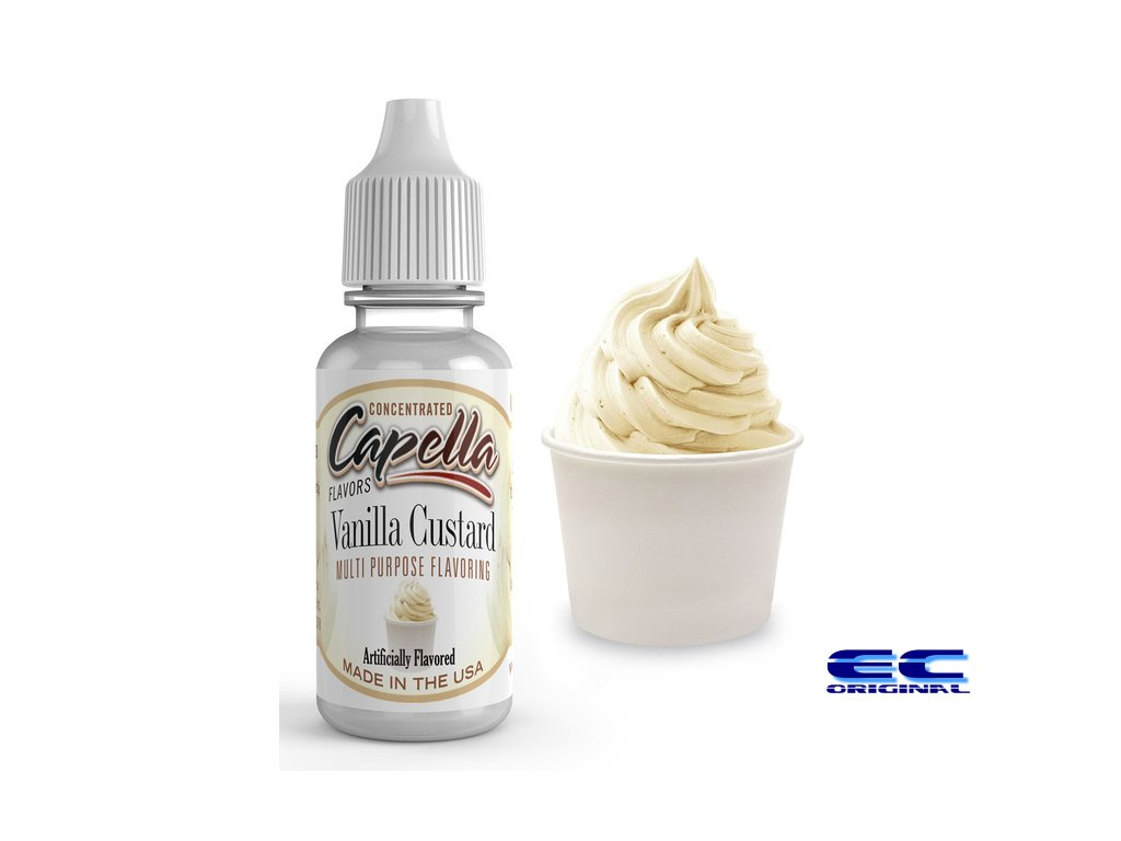 Vanilkový pudink (Vanilla Custard) - Příchuť Capella Flavors