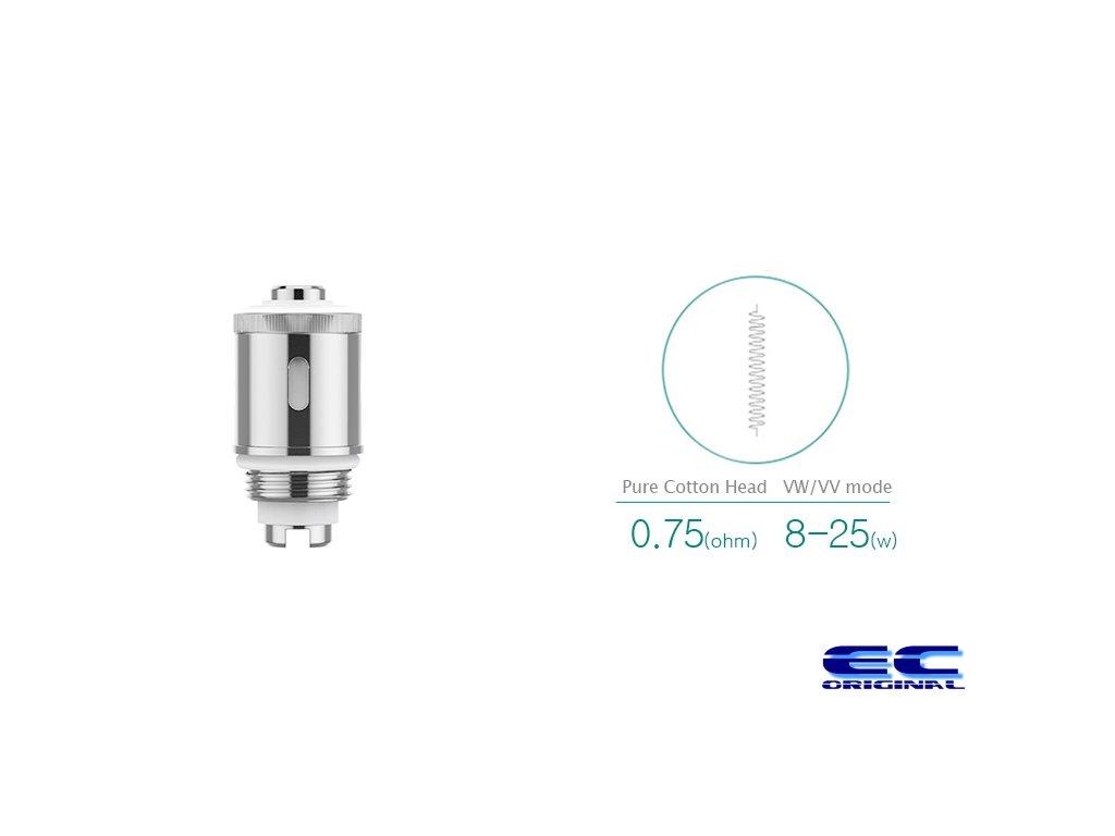 Náhradní hlava Eleaf GS Air 2 - s vatou 0,75ohm