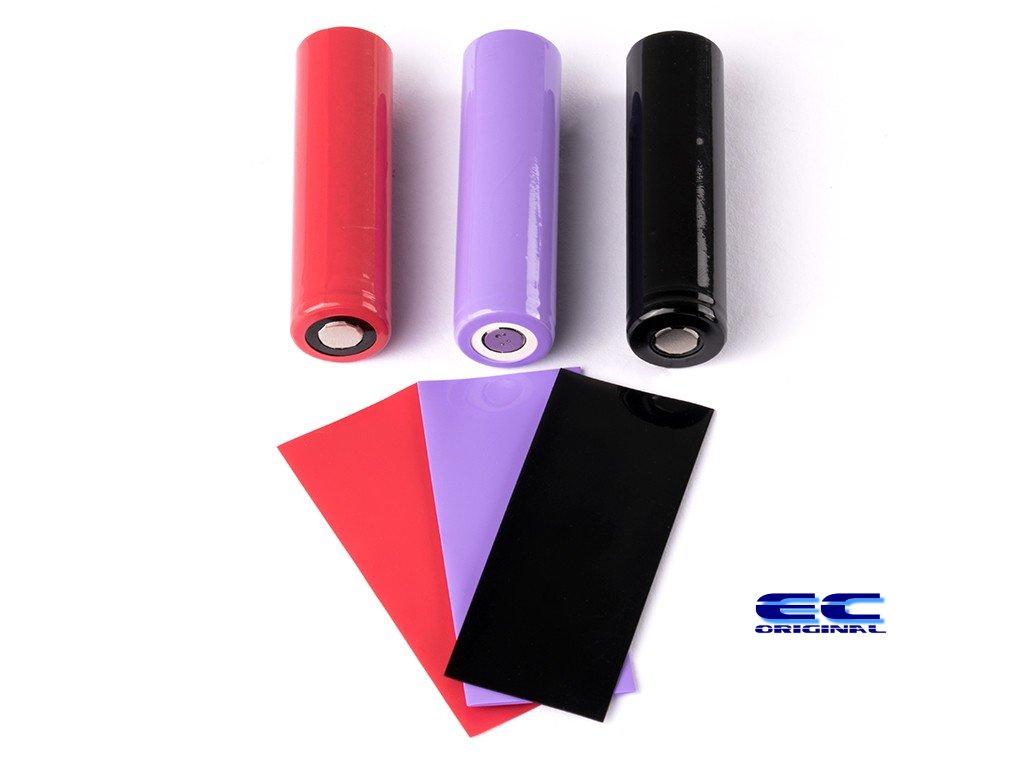 PVC teplem smršťovací obal na 18650 baterie