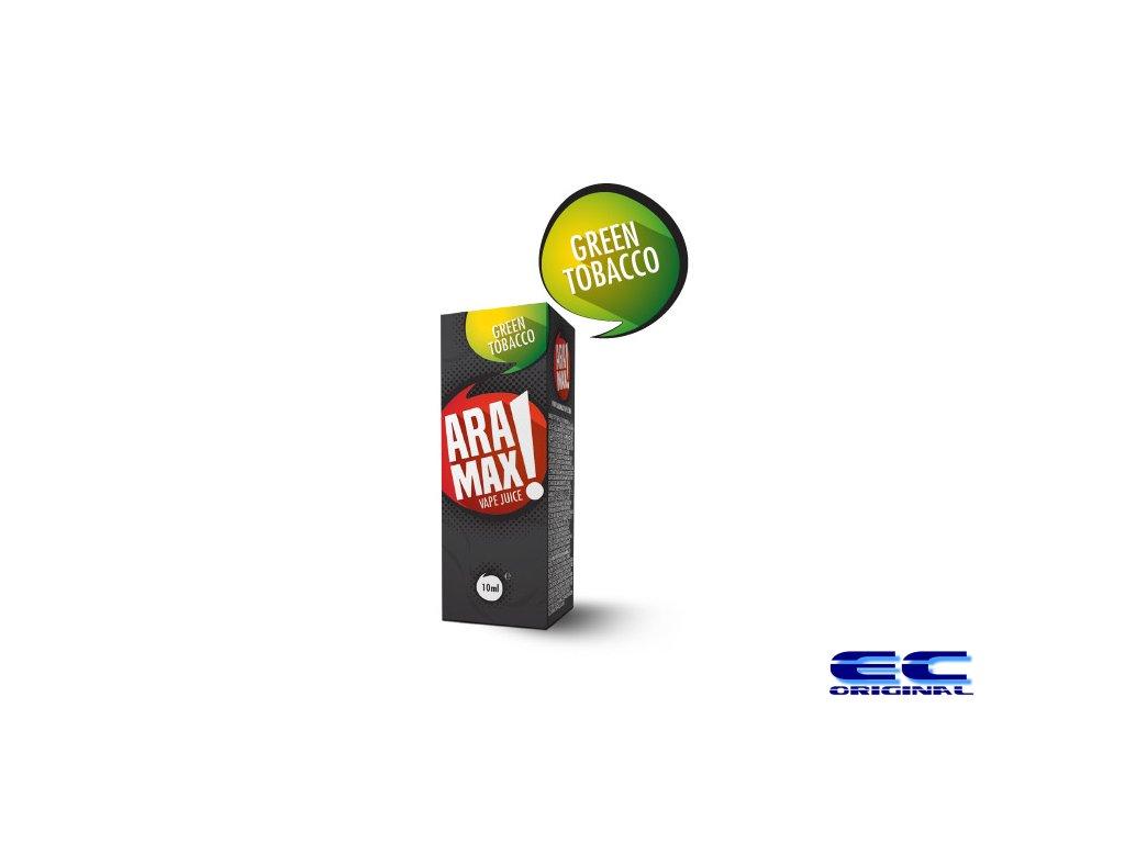 Green Tobacco - Aramax liquid - 10ml