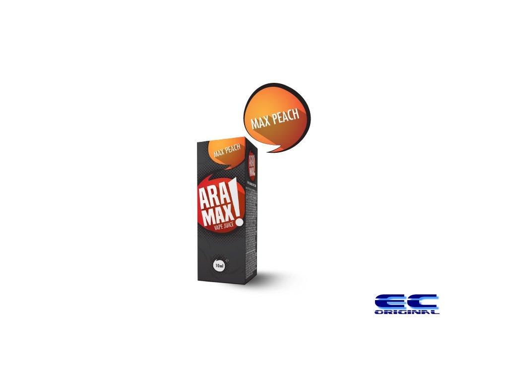 Broskev / Max Peach - Aramax liquid - 10ml