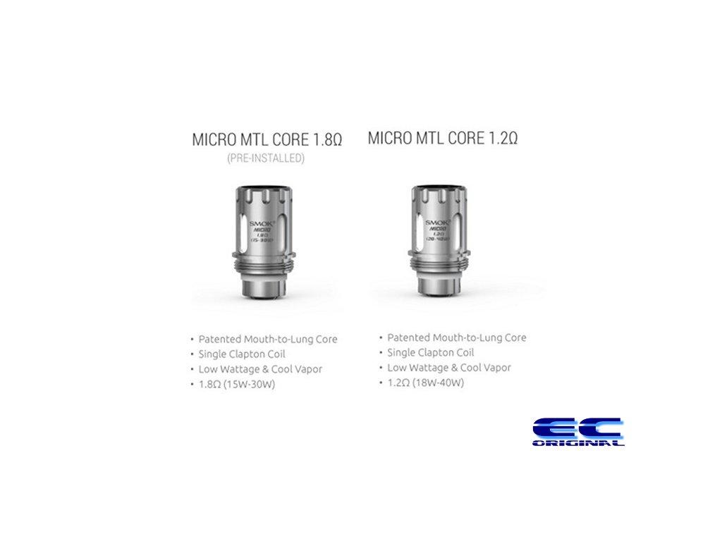 Náhradní žhavící spirálka pro SMOK TFV4 Micro MTL Core