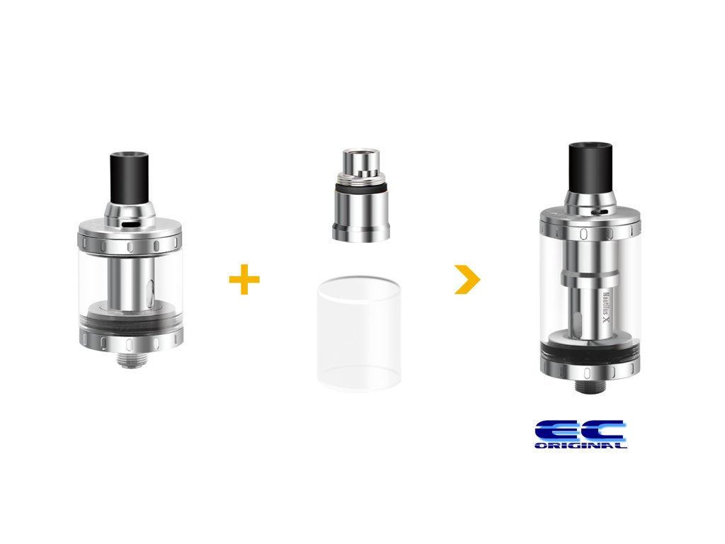 Aspire 4ml adapter pro Nautilus X a XS