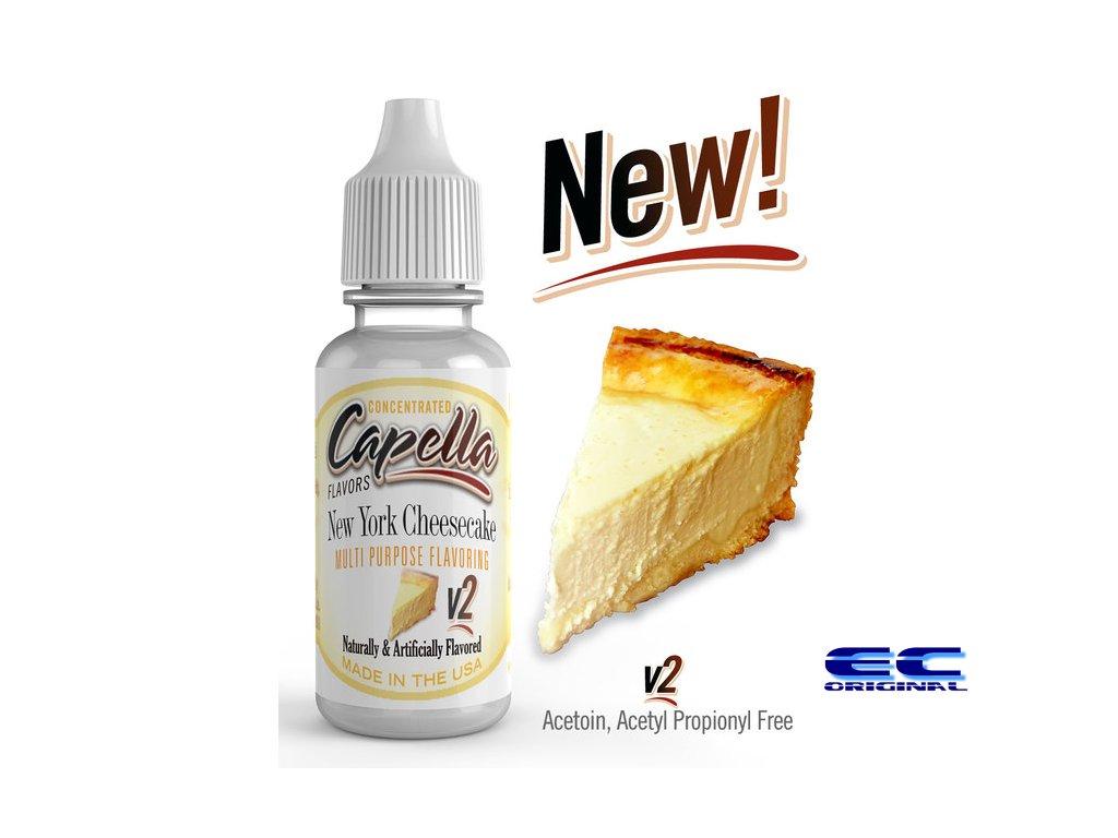 New York Cheesecake V2 - Příchuť Capella Flavors