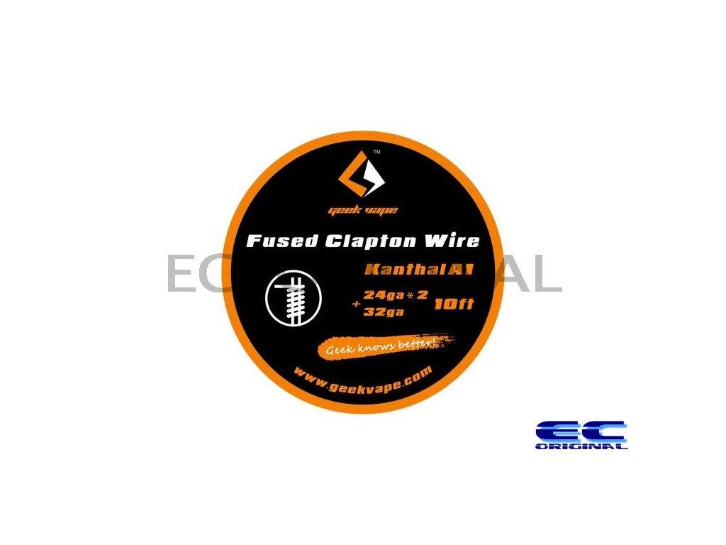 GeekVape Kanthal A1 Fused Clapton Wire 10ft - 2x 24GA + 32GA