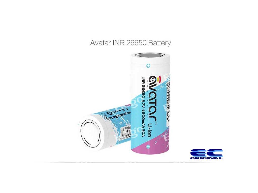 Avatar baterie INR 26650 4200mAh - 7C 30A