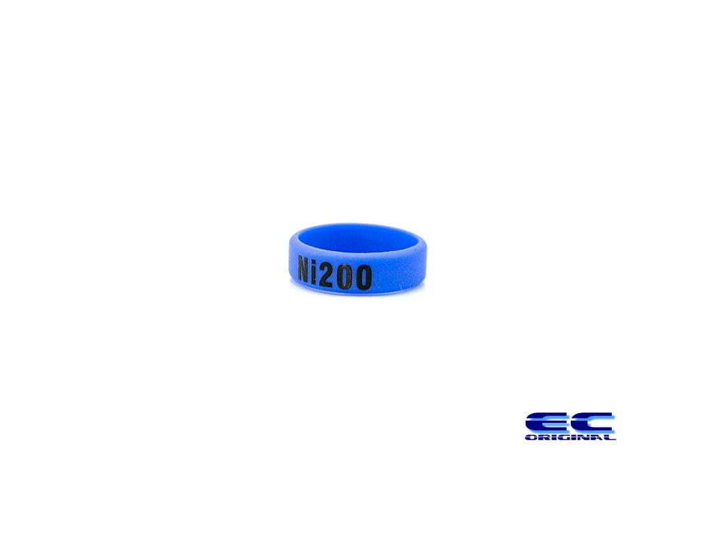 Dekorativní kroužek velký ( Ni200 ) modrá