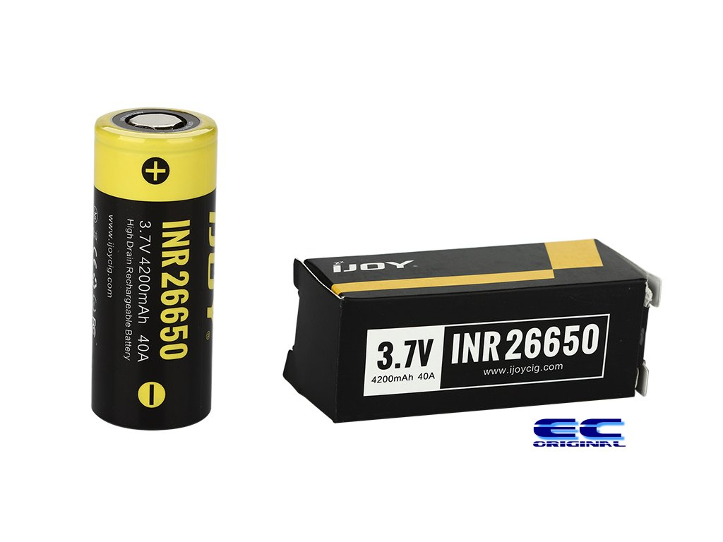 IJOY baterie INR 26650 4200mAh - 40A