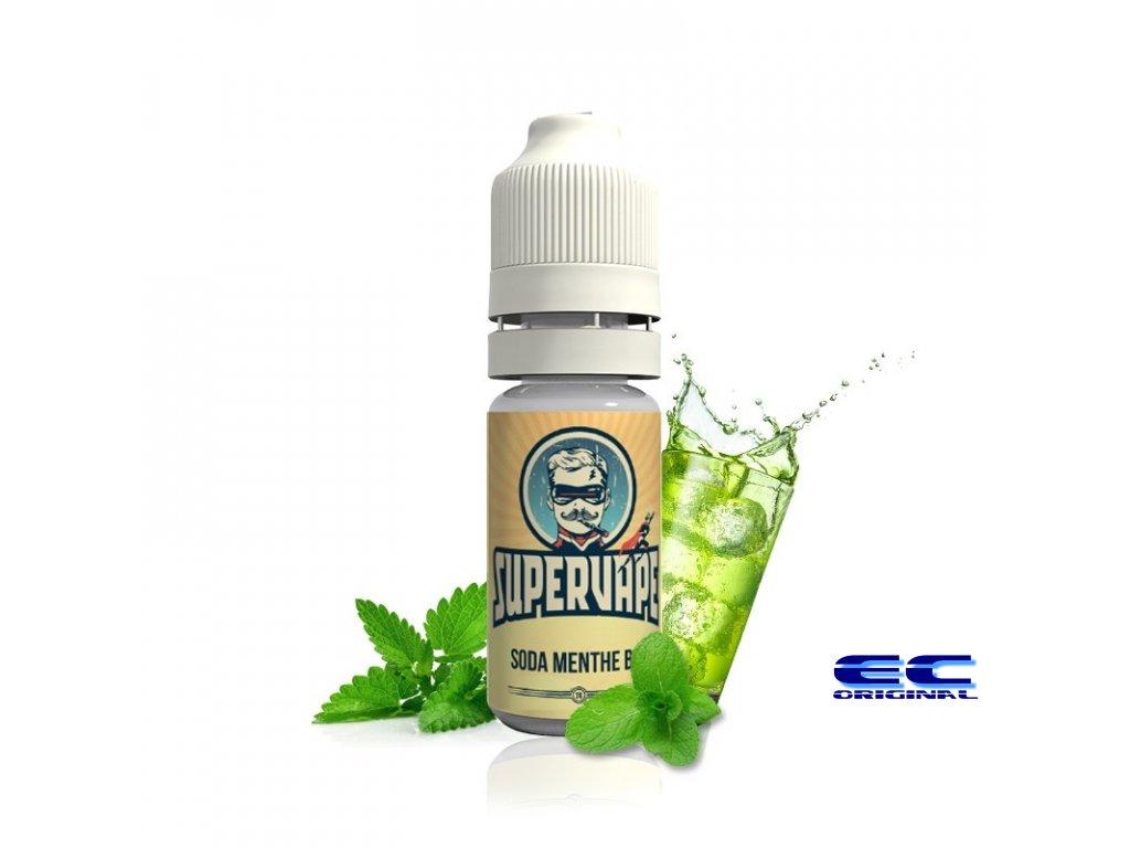 Příchuť Supervape: Mátová limonáda (Soda Organic Mint)